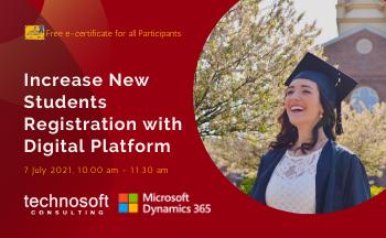 Increase New Students Registration with Digital Platform